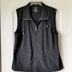 Zenergy by Chico's Lightweight Zip Up Vest Size 3